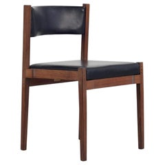"""""""Model 104"""" Dining Chair, Design by Gianfranco Frattini, Cassina, 1960s"""