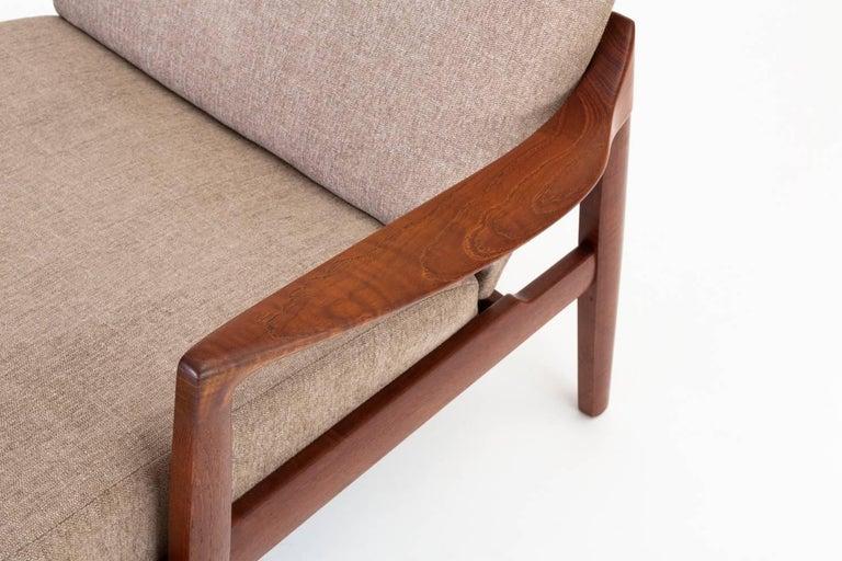 Model 125 Lounge Chair by Tove & Edvard Kindt-Larsen for France & Son For Sale 5