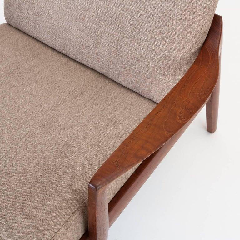 Model 125 Lounge Chair by Tove & Edvard Kindt-Larsen for France & Son For Sale 6