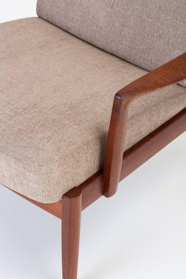 Model 125 Lounge Chair by Tove & Edvard Kindt-Larsen for France & Son For Sale 7