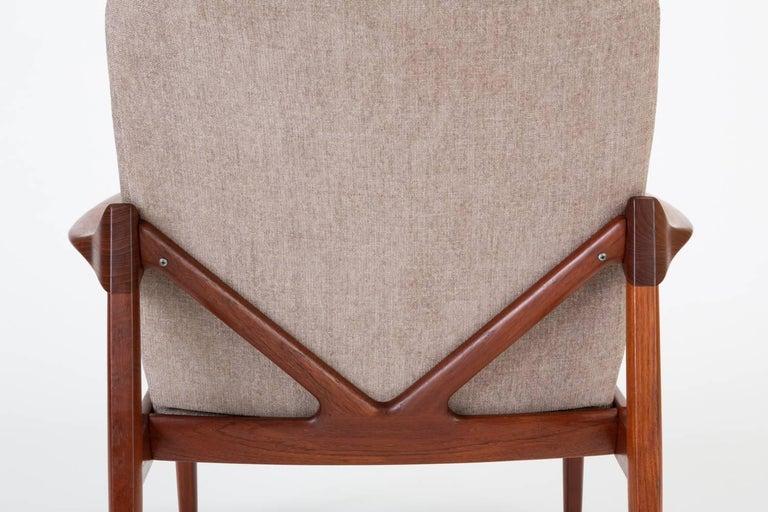 Model 125 Lounge Chair by Tove & Edvard Kindt-Larsen for France & Son For Sale 11
