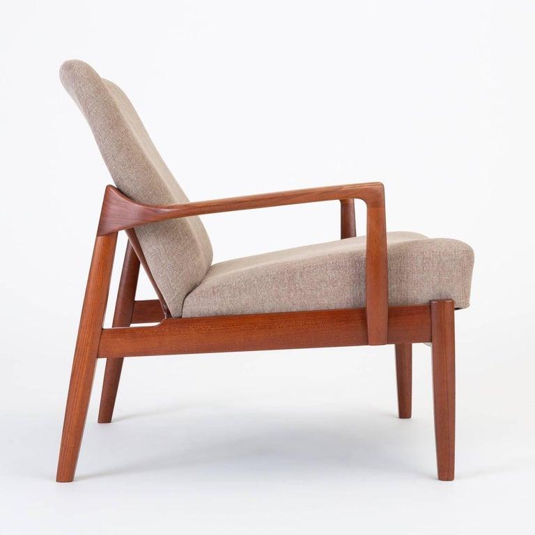 Model 125 Lounge Chair by Tove & Edvard Kindt-Larsen for France & Son For Sale 1