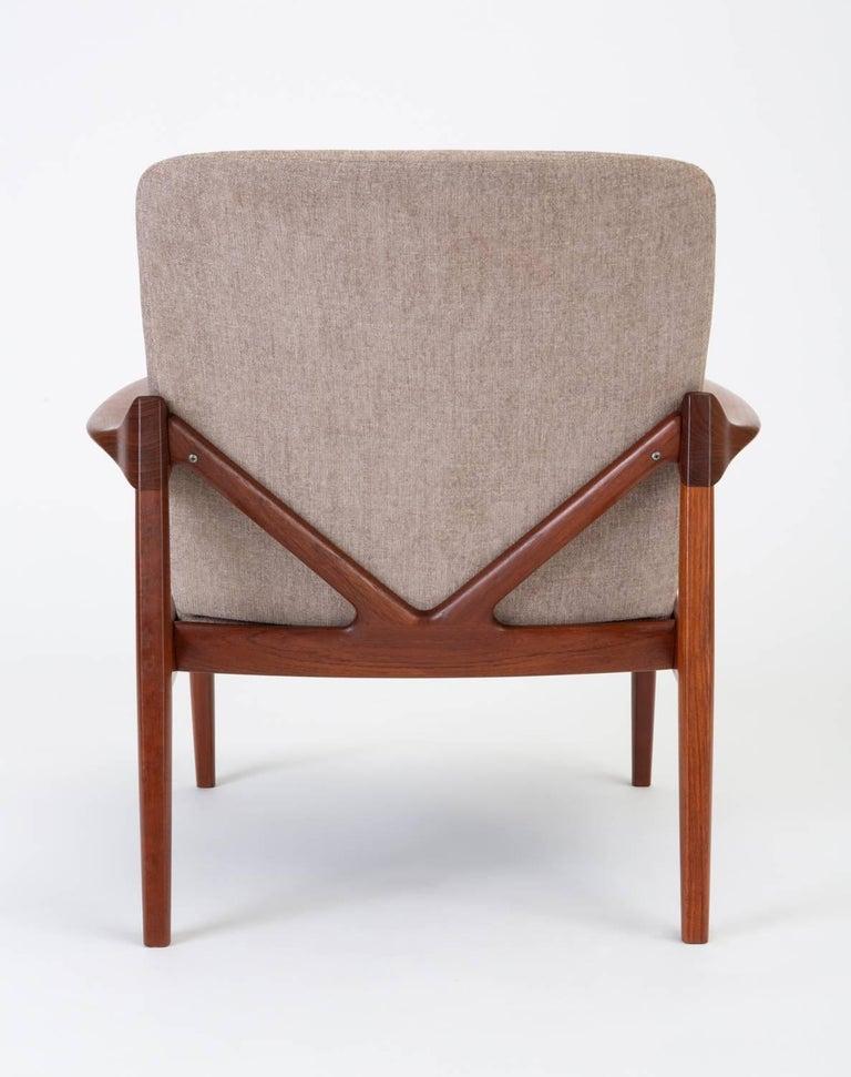 Model 125 Lounge Chair by Tove & Edvard Kindt-Larsen for France & Son For Sale 2