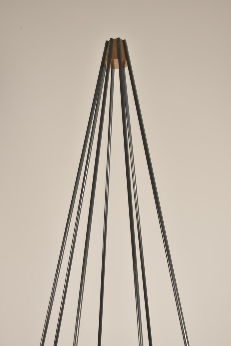 Model 12628 'Siluro' Floor Lamp by Angelo Lelli for Arredoluce, Italy, 1957 For Sale 3