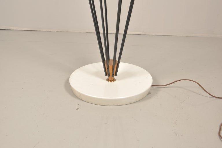 Model 12628 'Siluro' Floor Lamp by Angelo Lelli for Arredoluce, Italy, 1957 For Sale 5