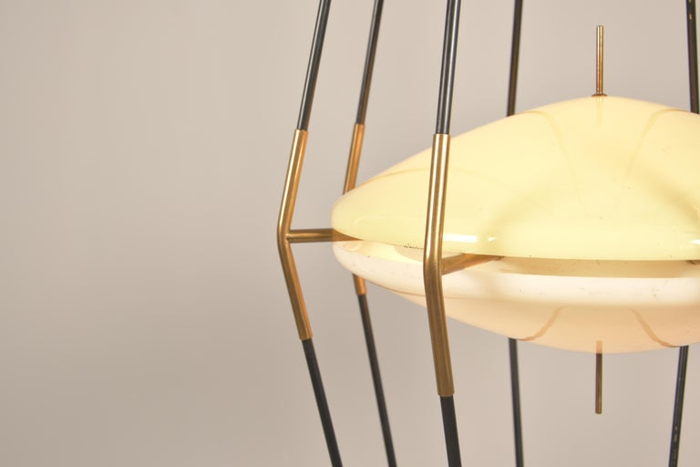 Model 12628 'Siluro' Floor Lamp by Angelo Lelli for Arredoluce, Italy, 1957 For Sale 9