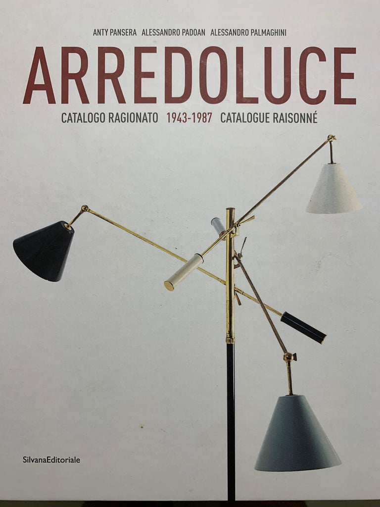 Model 12628 'Siluro' Floor Lamp by Angelo Lelli for Arredoluce, Italy, 1957 For Sale 11