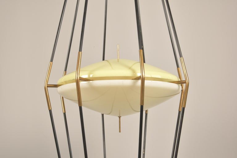 Model 12628 'Siluro' Floor Lamp by Angelo Lelli for Arredoluce, Italy, 1957 For Sale 1