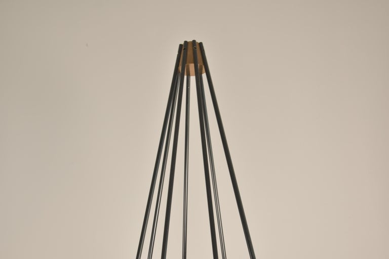 Model 12628 'Siluro' Floor Lamp by Angelo Lelli for Arredoluce, Italy, 1957 For Sale 2