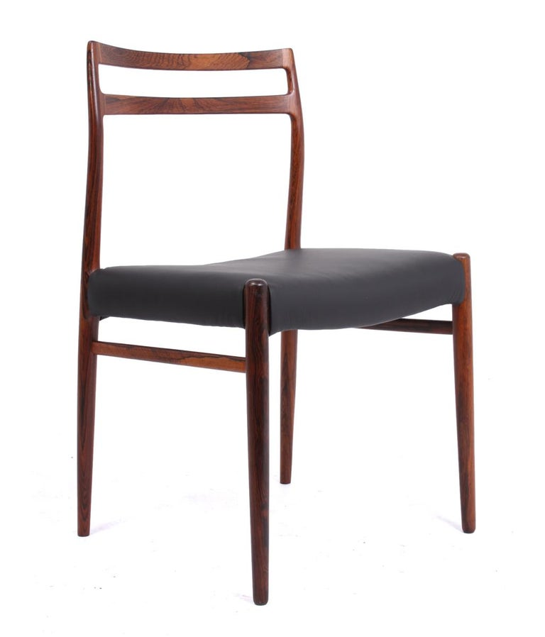 Model 146 Rosewood Dining Chairs by Alf Aarseth For Sale 4