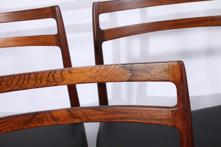 Mid-Century Modern Model 146 Rosewood Dining Chairs by Alf Aarseth For Sale