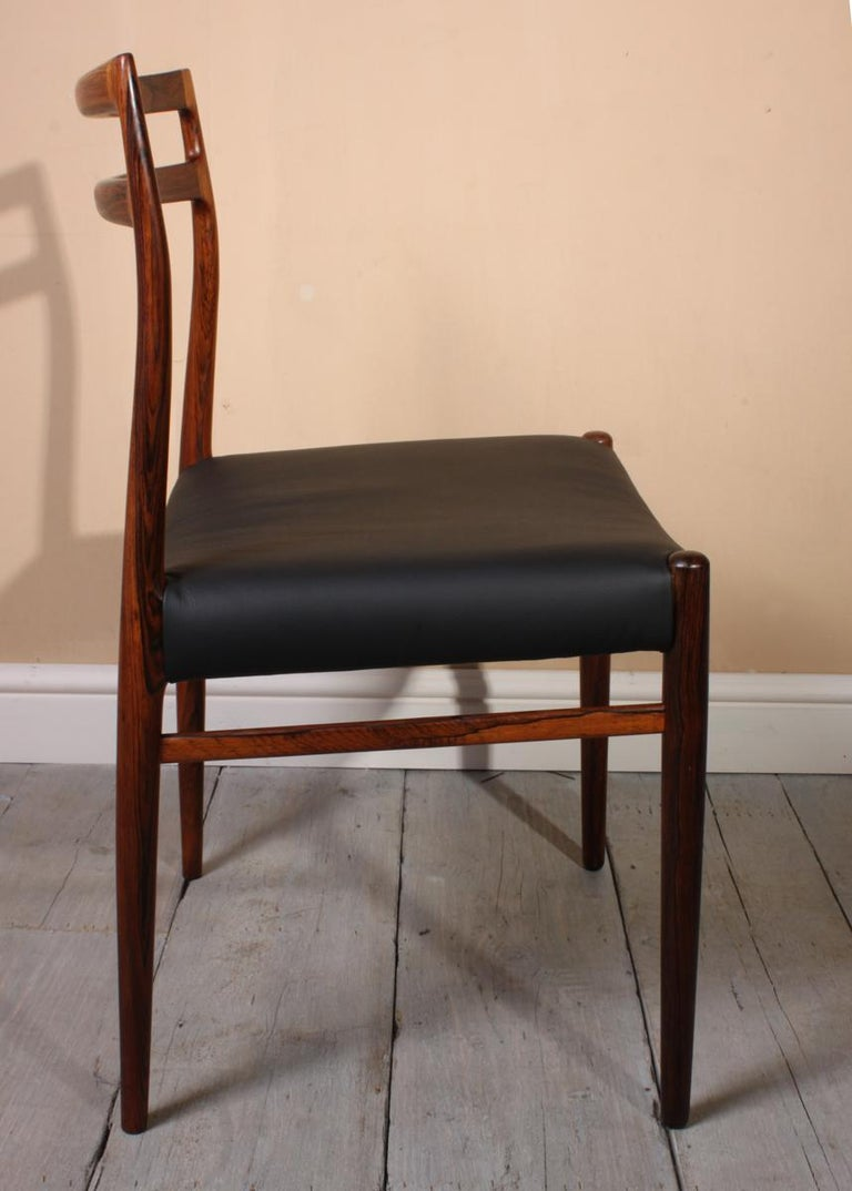 Mid-20th Century Model 146 Rosewood Dining Chairs by Alf Aarseth For Sale