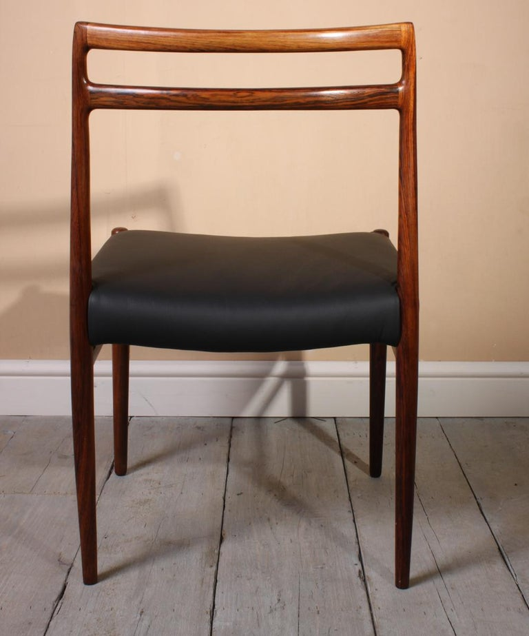 Model 146 Rosewood Dining Chairs by Alf Aarseth For Sale 2