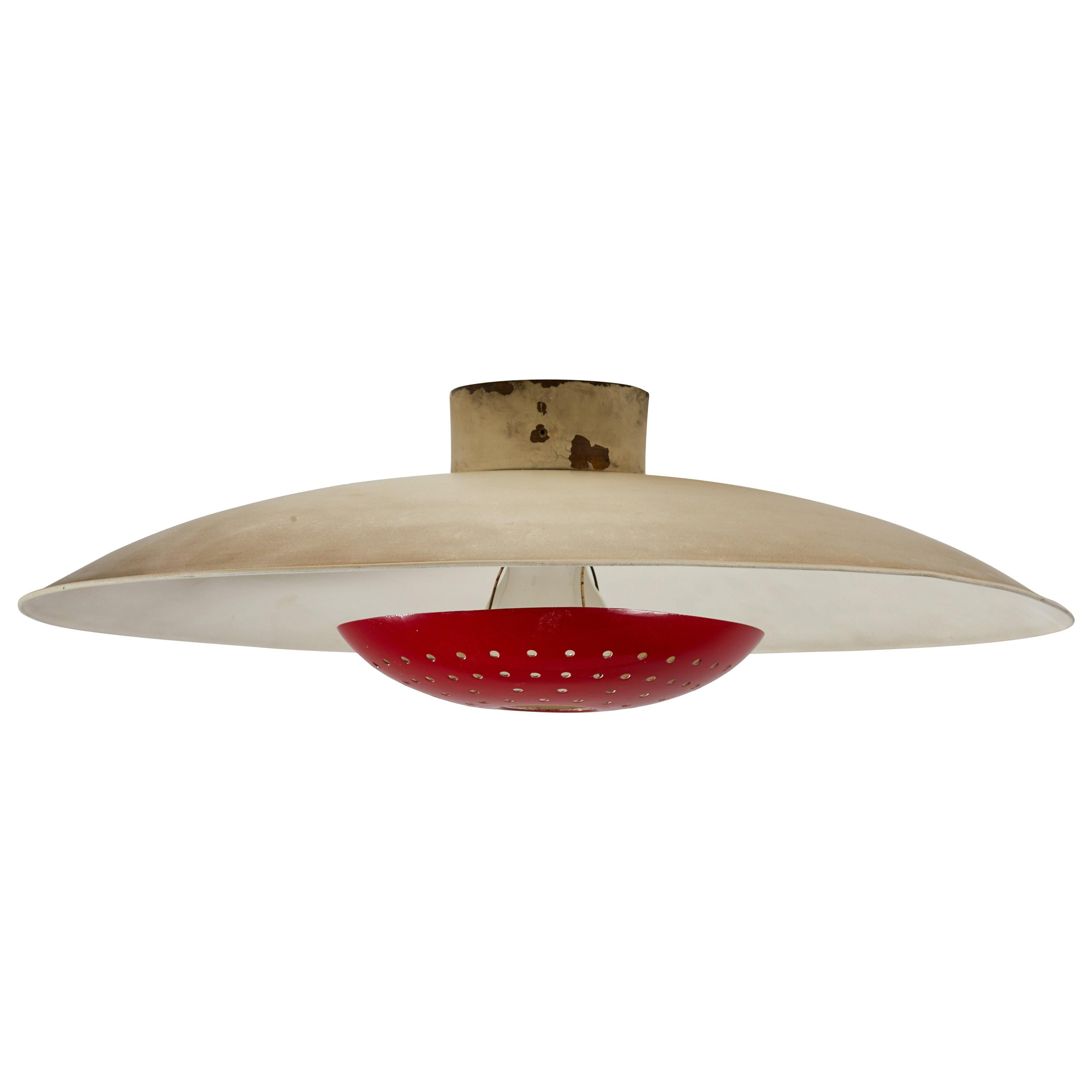 Model 155 Wall/Ceiling Light by Gino Sarfatti for Arteluce