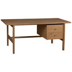 Model 156 Oak Desk by Hans Wegner for GETAMA