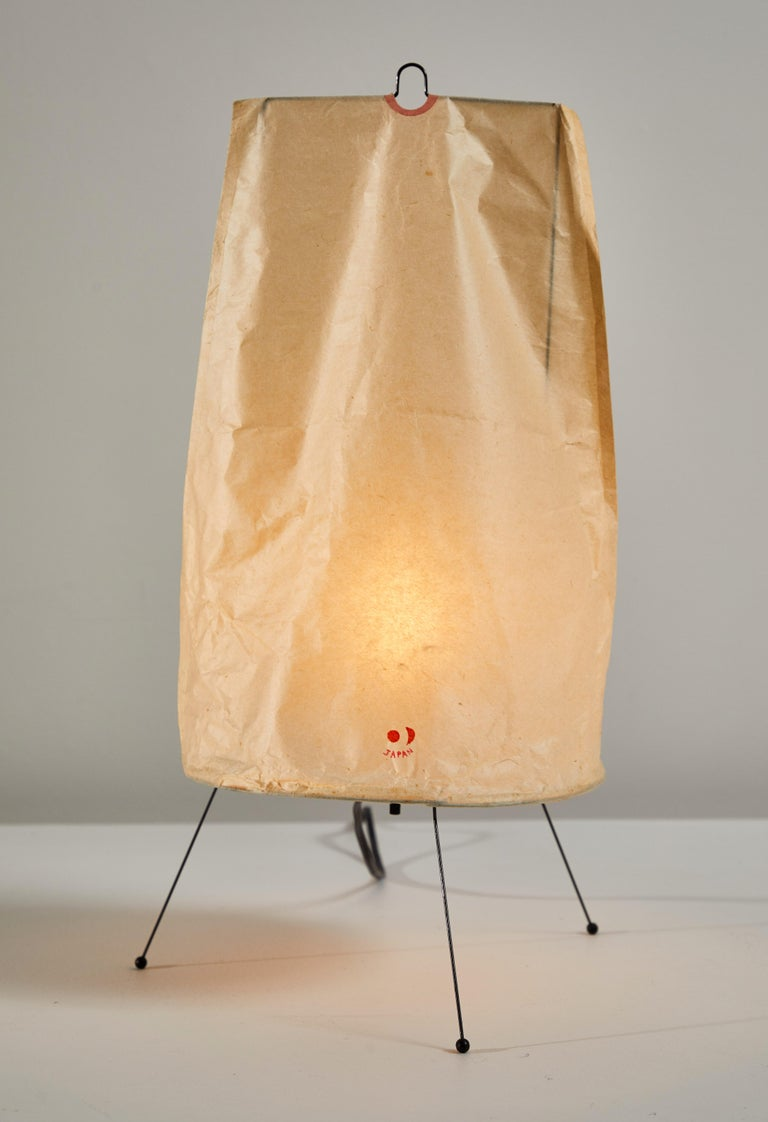 Japanese Model 1P Table Lamp by Isamu Noguchi for Akari For Sale