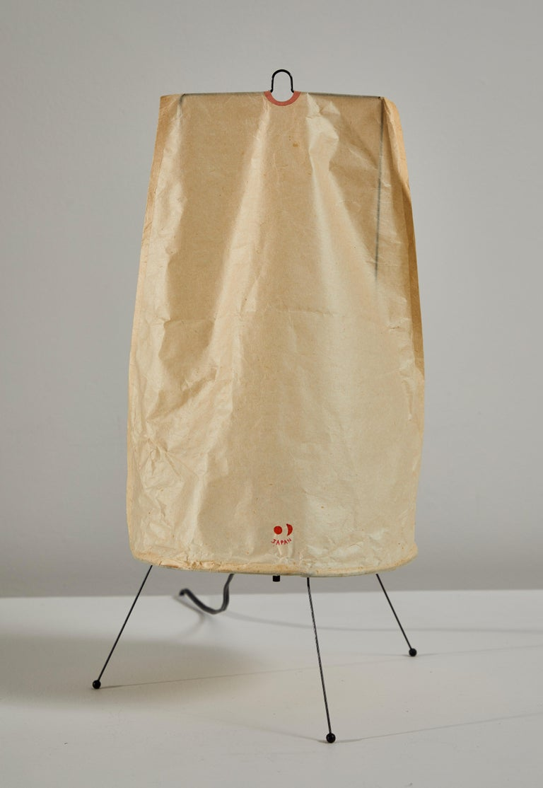 Mid-20th Century Model 1P Table Lamp by Isamu Noguchi for Akari For Sale