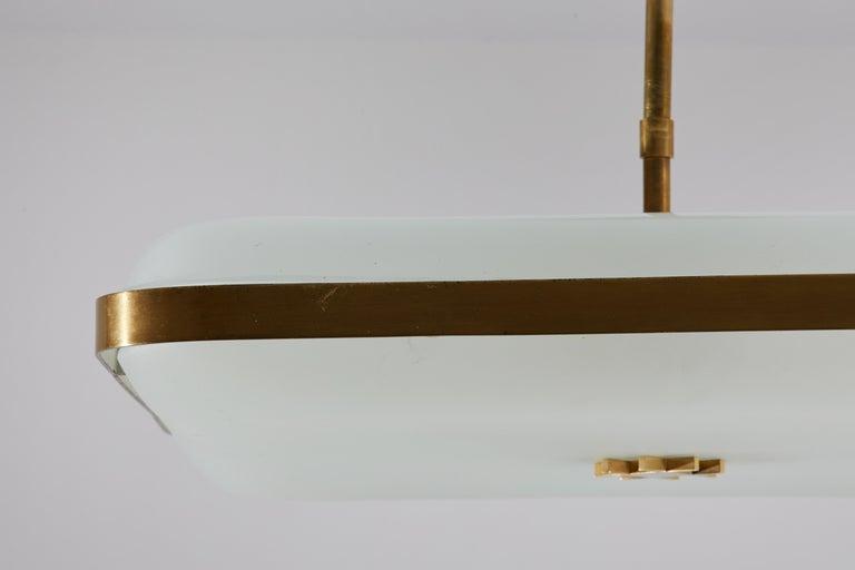 Model 2022 Flush Mount Ceiling Light by Max Ingrand for Fontana Arte 7