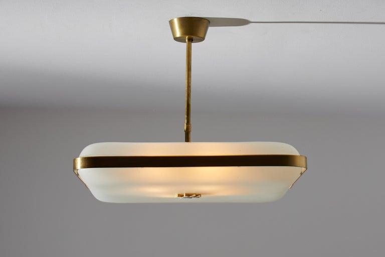 Italian Model 2022 Flush Mount Ceiling Light by Max Ingrand for Fontana Arte