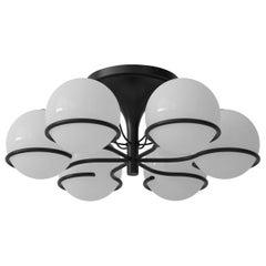 Model 2042/6 Flushmount Ceiling Light by Gino Sarfatti