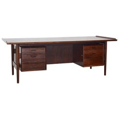 "Model ""207"" Rosewood Writing Desk by Arne Vodder for Sibast, Denmark, 1960"