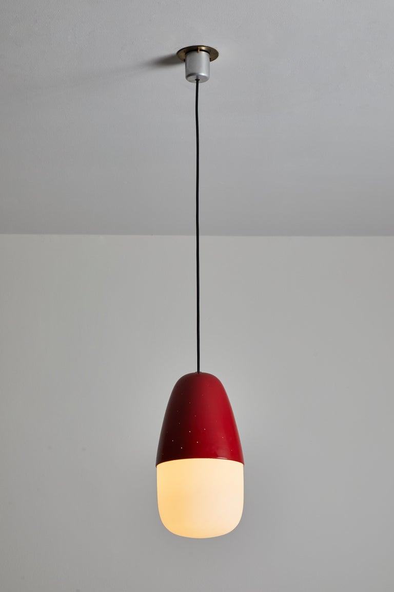 Mid-Century Modern Model 2079 Pendant by Gino Sarfatti for Artreluce For Sale