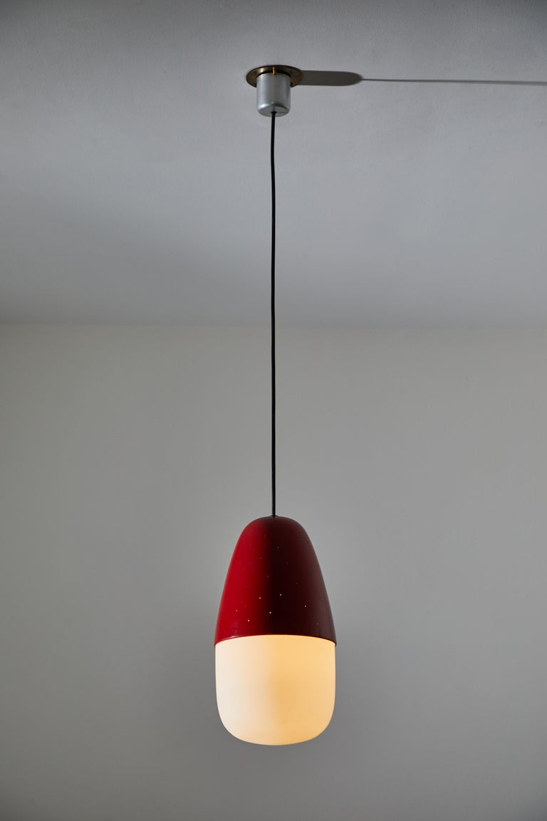 Italian Model 2079 Pendant by Gino Sarfatti for Artreluce For Sale