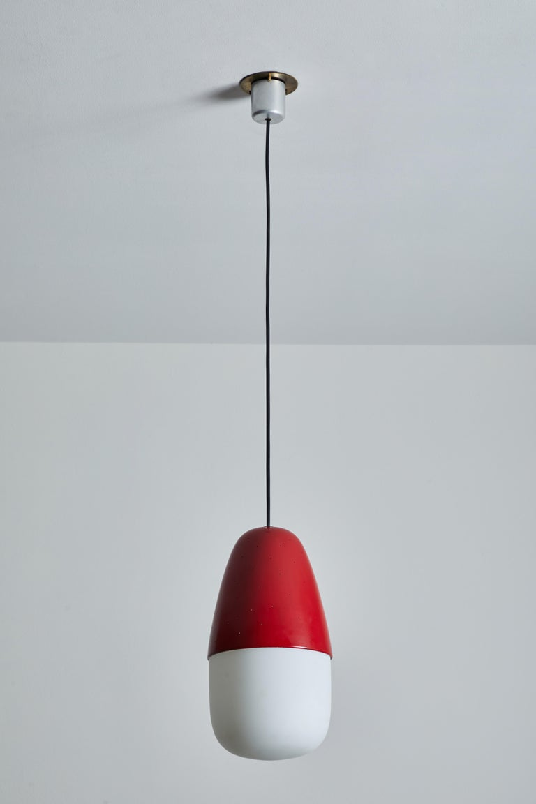 Mid-20th Century Model 2079 Pendant by Gino Sarfatti for Artreluce For Sale