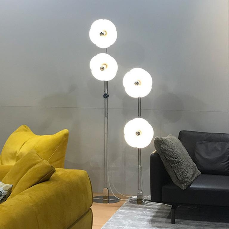 French Model 2093-225 Floor Lamp by Olivier Mourgue For Sale