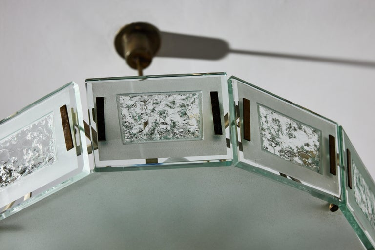Model 2270 Ceiling Light by Max Ingrand For Sale 3