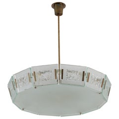 Model 2270 Ceiling Light by Max Ingrand