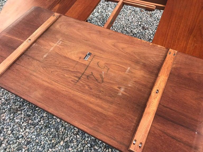 Teak Model 311 Table by Peter Hvidt & Orla Mølgaard-Nielsen for Søborg Møbler For Sale