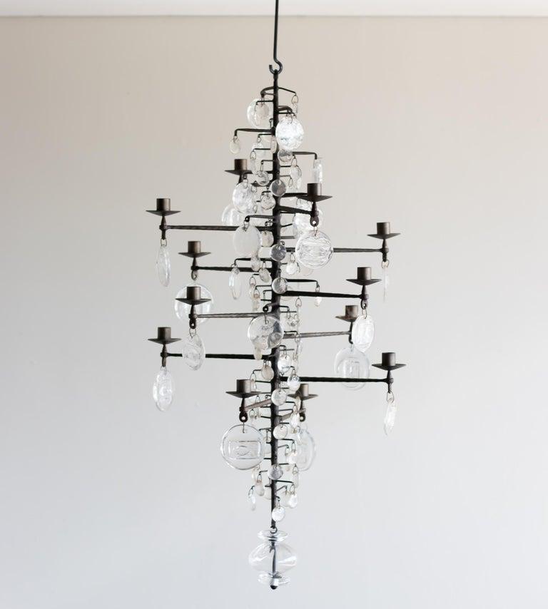 Model 341 Candelabrum by Erik Hoglund For Sale 2