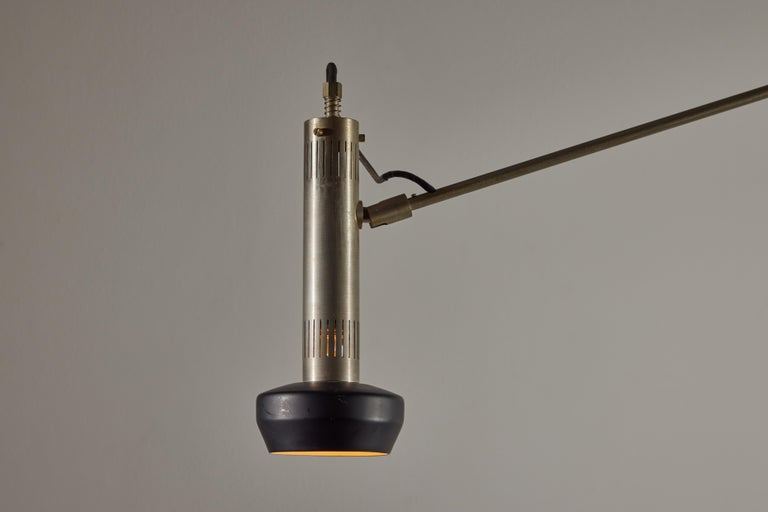 Mid-20th Century Model 387 Floor Lamp by Tito Agnoli for Oluce For Sale