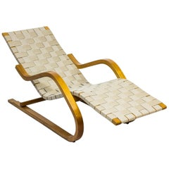"""Model 39"" Chaise Lounge by Alvar Aalto for Artek, 1945-1956"