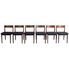 Model 39 Dining Chairs by Henry Rosengren Hansen for Brande Møbelindustri, 1960s