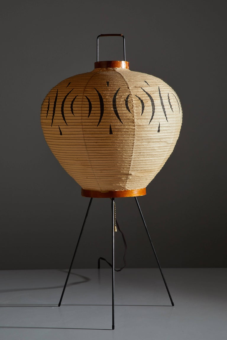 Japanese Model 3A Table Lamp by Isamu Noguchi for Akari For Sale