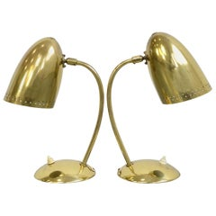 Model 4007 Table Lamps by Christian Dell for Kaiser Idell, circa 1930s