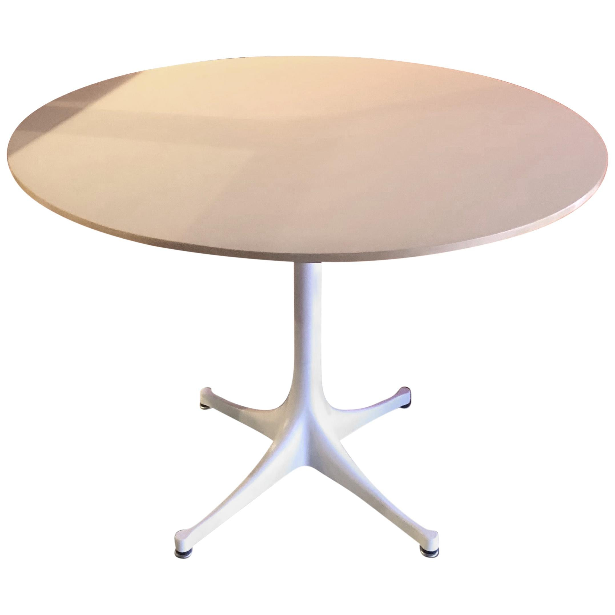 Model 5254 Pedestal Table by George Nelson for Herman Miller