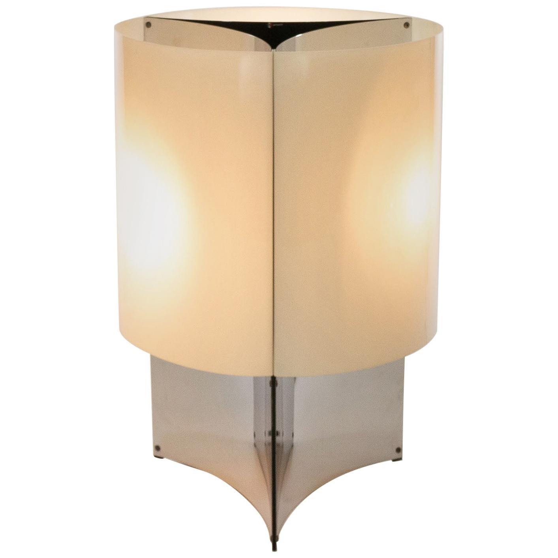 Model 526/G Table or Floor Lamp by Massimo Vignelli for Arteluce, 1960s