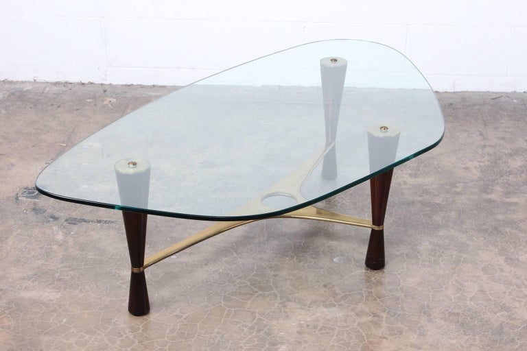 Model 5309 Coffee Table by Edward Wormley for Dunbar For Sale 6