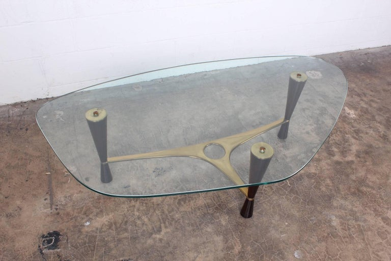 Model 5309 Coffee Table by Edward Wormley for Dunbar For Sale 1