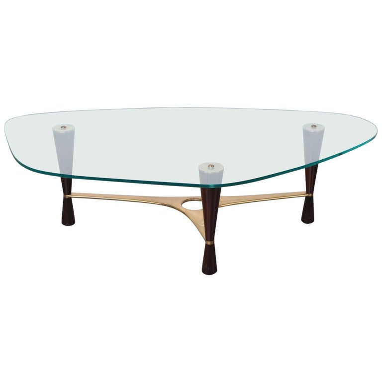 Model 5309 Coffee Table by Edward Wormley for Dunbar For Sale