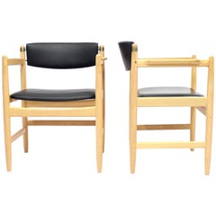 Model 537 Armchairs by Børge Mogensen for Karl Andersson & Söner, 1970s
