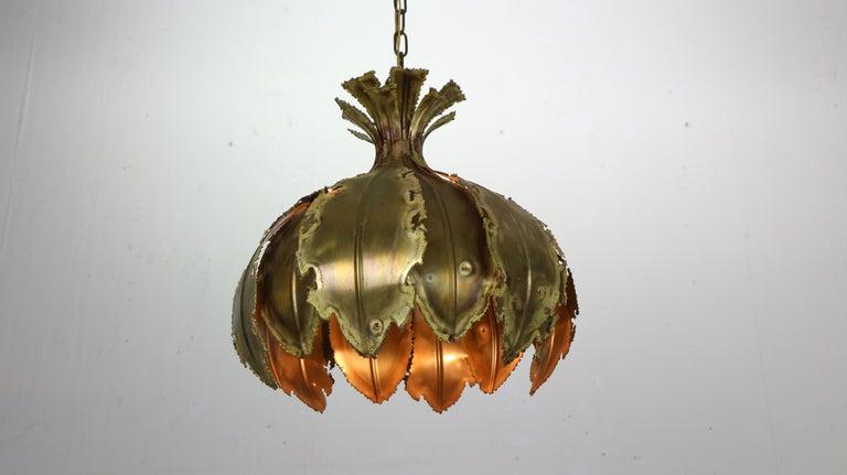 Mid-20th Century Model 6395 Hanging Lamp by Svend Aage Holm Sørensen for Holm Sørensen & Co, 1960 For Sale
