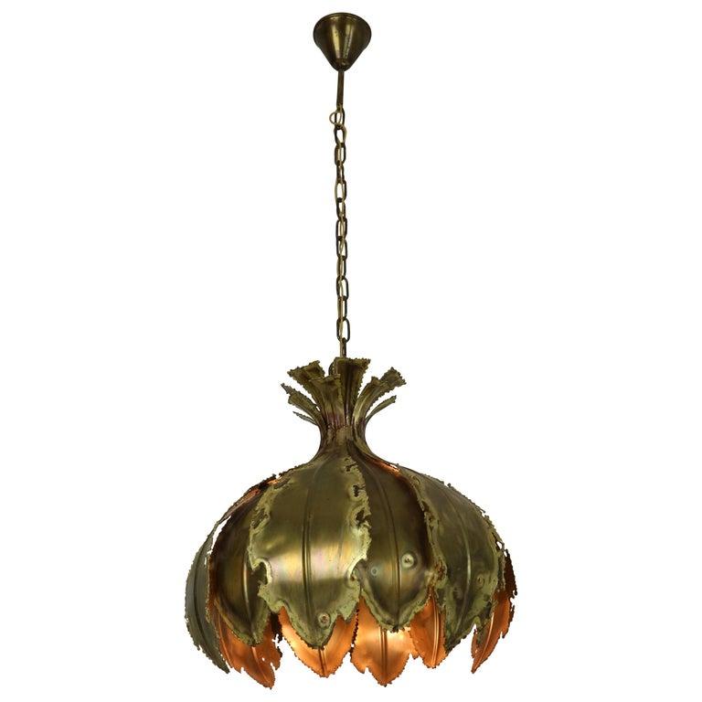Model 6395 Hanging Lamp by Svend Aage Holm Sørensen for Holm Sørensen & Co, 1960 For Sale