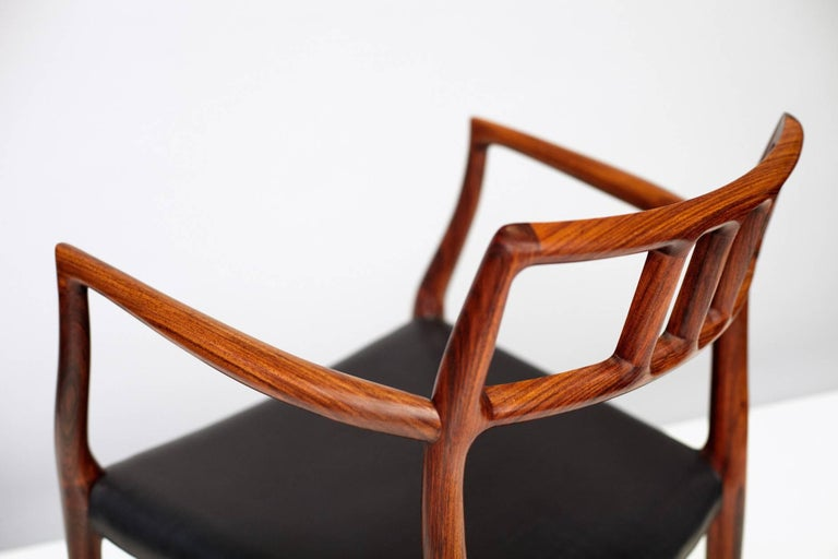 Model 64 Chairs by Niels Moller In Excellent Condition In London, GB