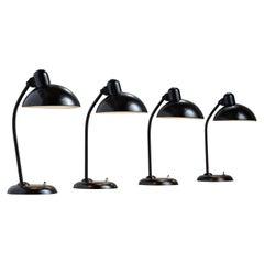 Model 6566 Table Lamps by Kaiser Idell, Denmark, Circa 1930