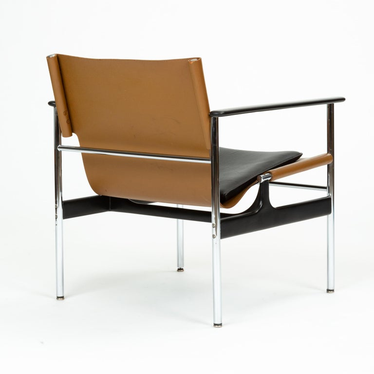 Model 657 Lounge Chair by Charles Pollock for Knoll For Sale 2