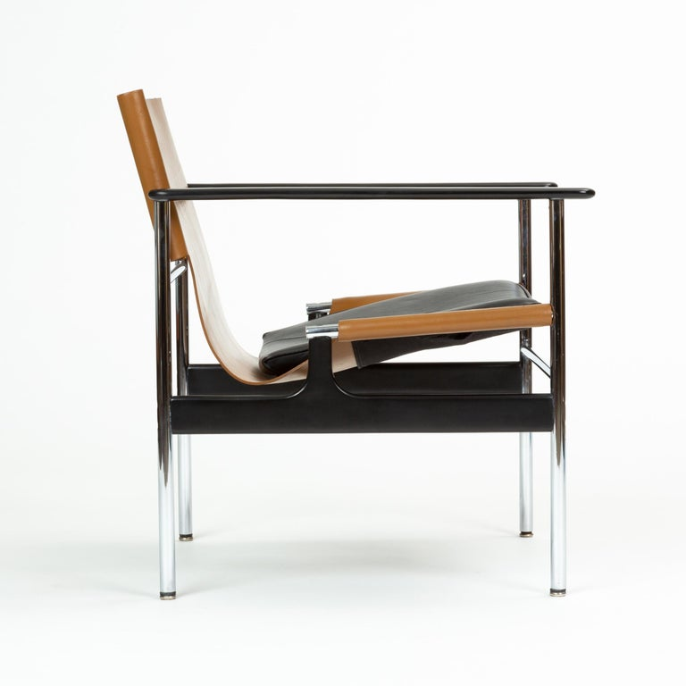 Model 657 Lounge Chair by Charles Pollock for Knoll For Sale 4